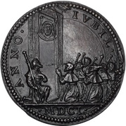 Medal - Innocent X (holy year 1650) – reverse