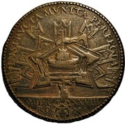 Medal - Urban VIII (Fortifications of Castel Sant'Angelo, Rome) – reverse