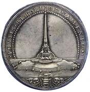 1 Piastra - Clemente XI – reverse