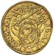 1 Scudo - Gregory XIII – obverse