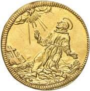 2 Scudi d'Oro - Clemente XI – reverse
