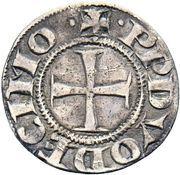 1 Grosso - Benedict XII – reverse