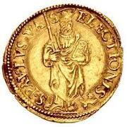 1 Scudo d'Oro - Paul III – reverse