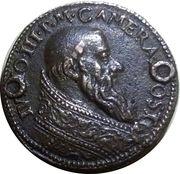 New extensions at the port of Civitavecchia - Pope Julius III. – obverse