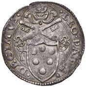 1 Giulio - Leo X – obverse