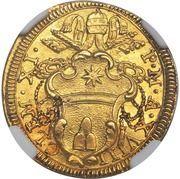 1 Scudo d'Oro - Clemente XI (VT FACIANT IVSTITIAS ET ELEEMOSYN) – obverse
