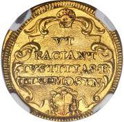 1 Scudo d'Oro - Clemente XI (VT FACIANT IVSTITIAS ET ELEEMOSYN) – reverse