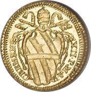 1 Scudo d'Oro - Clemente XII (LVMEN RECTIS) – obverse