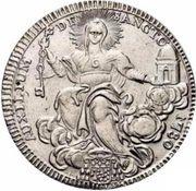 1 Scudo - Pio VI (AVXILIVM DE SANCTO - Holy Mother Church) – reverse