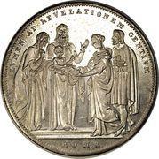 1 Scudo - Gregorio XVI (LVMEN AD REVELATIONEM GENTIVM - Jesus) – reverse