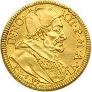 1 Doppia - Innocenzo XII (NVNTIA PACIS - Peace of Ryswick) – obverse