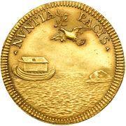 1 Doppia - Innocenzo XII (NVNTIA PACIS - Peace of Ryswick) – reverse