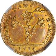 1 Doppia - Pio VI (APOSTOLOR PRINCEPS - St. Peter - With value) – obverse