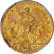 1 Doppia - Pio VI (APOSTOLOR PRINCEPS - St. Peter - With value) – reverse