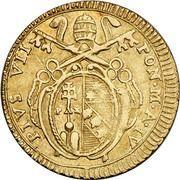 1 Doppia - Pio VII (APOSTOLOR PRINCEPS - St. Peter) – obverse