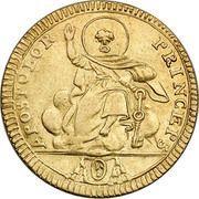 1 Doppia - Pio VII (APOSTOLOR PRINCEPS - St. Peter) – reverse