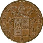 1 Baiocco - Gregorio XVI – obverse