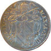 5 Baiocchi - Pio IX (800 Silver) – obverse