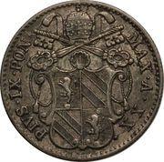 5 Baiocchi - Pio IX (835 Silver) – obverse