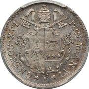 10 Baiocchi - Gregorio XVI – obverse