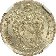 10 Baiocchi - Pio IX (800 Silver) – obverse