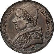 20 Baiocchi - Gregorio XVI – obverse