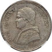 50 Baiocchi - Pio IX – obverse