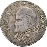 1 Giulio - Paul V -  obverse