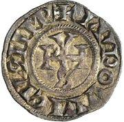 1 Denaro - Gregorio IV – obverse
