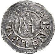 1 Denaro - Stefano VII/VI – reverse