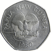 50 Toea - Elizabeth II (South Pacific Festival of Arts) – obverse