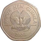 50 Toea - Elizabeth II (Bank of Papua New Guinea) – obverse