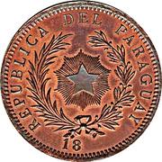1 Peso 18XX (Copper Pattern) – obverse