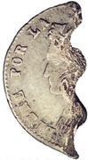 """1 Real """"ND"""" (War of the Triple Alliance) – obverse"""