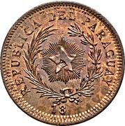 50 Centavos (Copper Pattern) – obverse