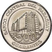 500 Guaraníes -  reverse