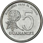 5 Guaraníes (FAO) -  reverse