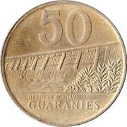 50 Guaraníes -  reverse