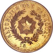 50 Centavos (Gold Pattern) – obverse