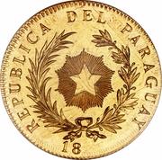 1 Peso (Gold Pattern) – obverse