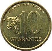 10 Guaraníes (FAO) -  reverse