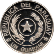 1 Guarani (Currency Reform) -  obverse