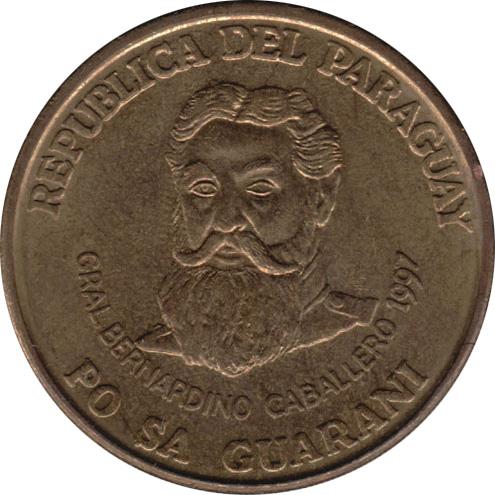 1997 PARAGUAY 500 GUARANIES BIN ZZZ AU//UNC Hard to Find Coin FREE SHIP