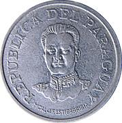 50 Guaraníes (date on back) -  obverse