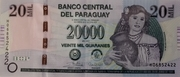 20 000 Guaranies – obverse