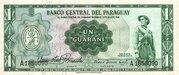 1 Guaraní – obverse