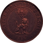 2 Centimos (Copper Pattern) – obverse