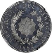1 Peso (Aluminium Pattern) – obverse