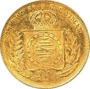 10 000 Réis 1853 (Countermark) – reverse
