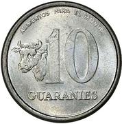 10 Guaraníes (FAO) -  obverse